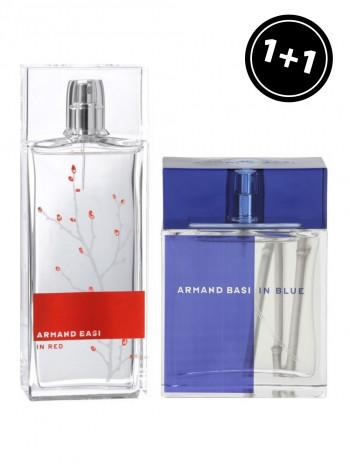 Armand Basi In Red & Armand Basi In Blue
