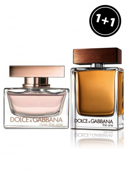Dolce&Gabbana Rose The One & Dolce&Gabbana The One For Men