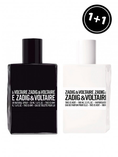 Zadig & Voltaire This Is Him & Zadig & Voltaire This Is Her